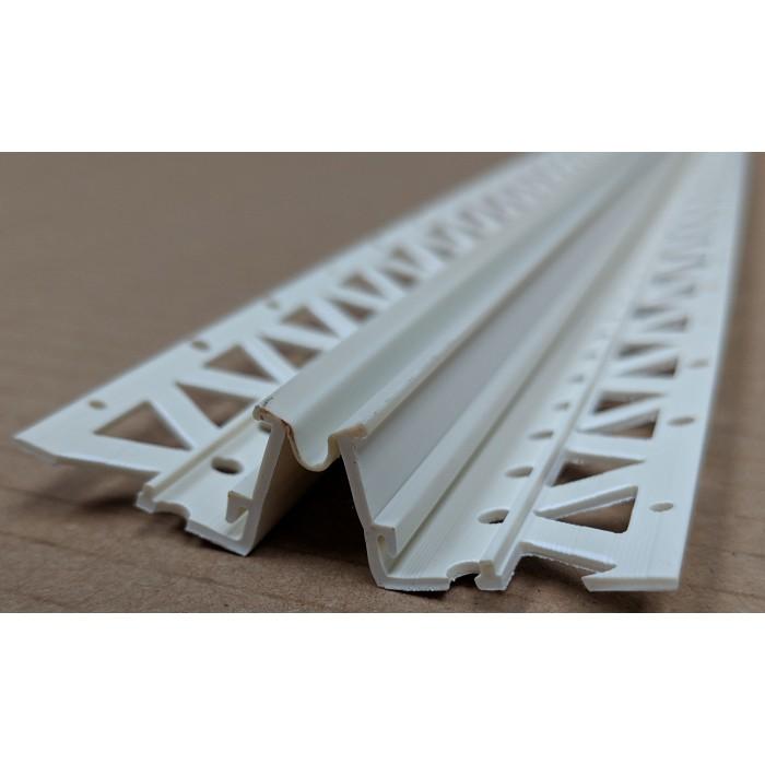Ivory 6 - 8mm Render Depth PVC Movement Bead 2.5m 1 Length