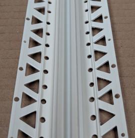 Ivory 13 - 15mm Render Depth PVC Movement Bead 2.5m 1 Length
