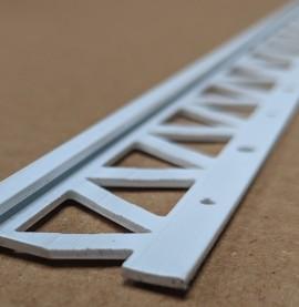 White 4mm Render Depth PVC Stop Bead 25mm x 2.5m 1 Length