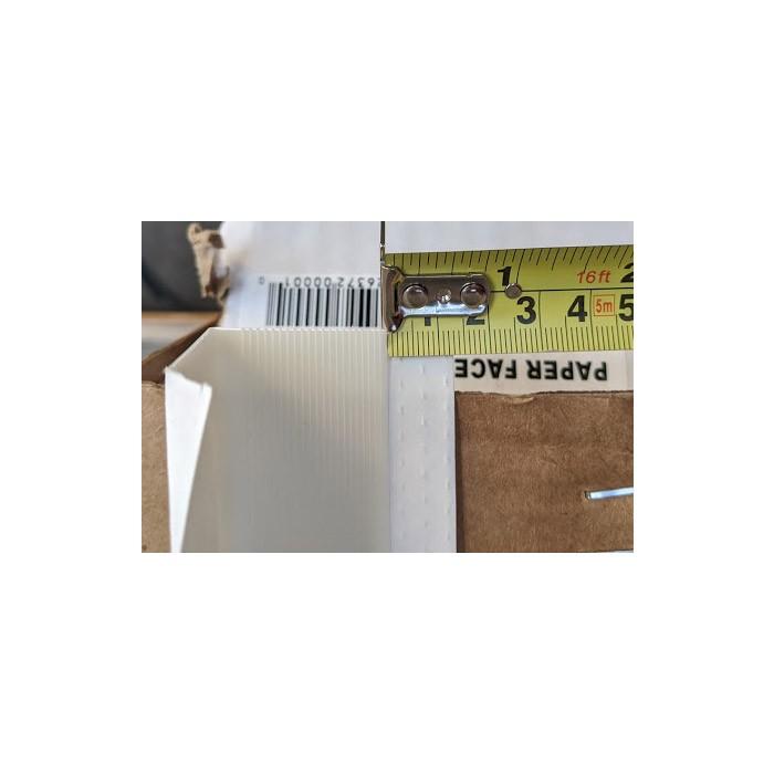 Trim-Tex White Paper Faced Corner Bead 2.4m 1 Length FEP08