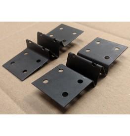 Protektor PP100 Acoustic Brace Galvanised Steel 100mm x 40mm x 1mm Box 50