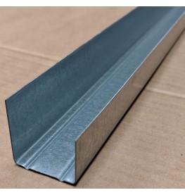 Protektor MF6 Galvanised Steel Perimeter Profile 19mm x 27mm x 28mm x 3.6m 1 Length