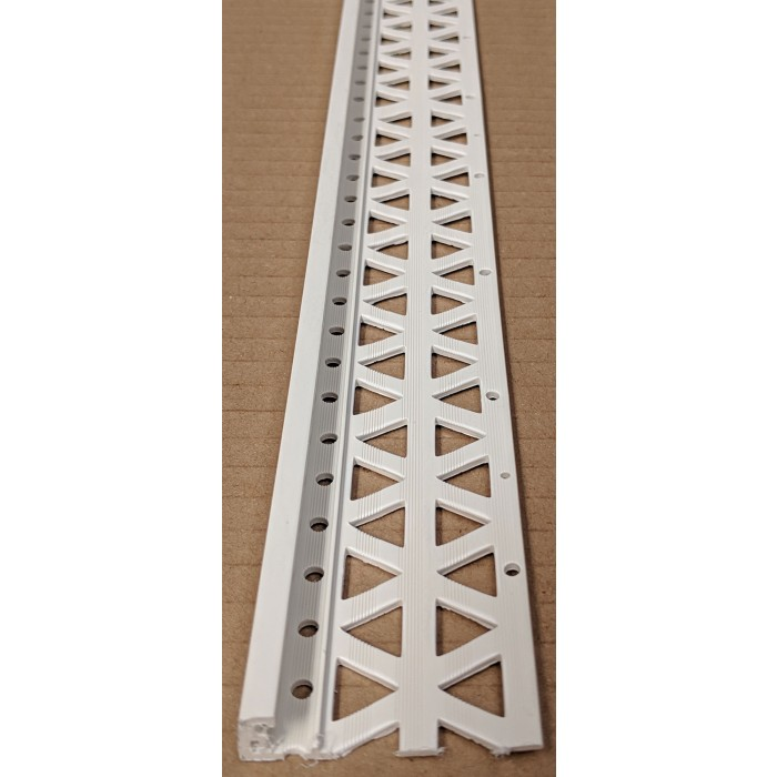 Ivory 10 - 12mm Render Depth PVC Stop Bead 42mm x 2.5m 1 Length