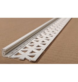 Ivory 13 - 15mm Render Depth PVC Stop Bead 42mm x 3m 1 Length