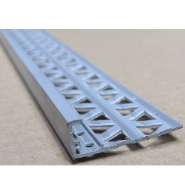Dark Grey 13 - 15mm Render Depth PVC Stop Bead 42mm x 2.5m 1 Length