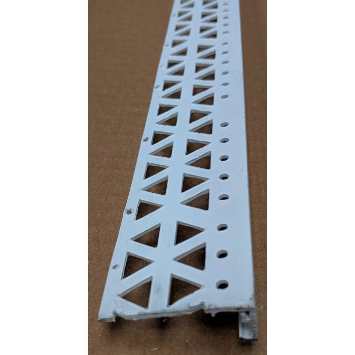 White 15 - 17mm Render Depth PVC Stop Bead 42mm x 2.5m 1 Length