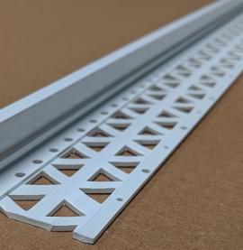 White 20 - 22mm Render Depth PVC Stop Bead 42mm x 2.5m 1 Length