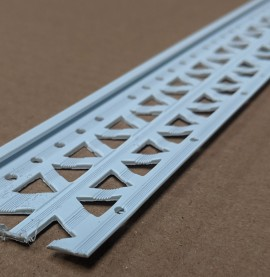 White 4mm Render Depth PVC Stop Bead 42mm x 2.5m 1 Length