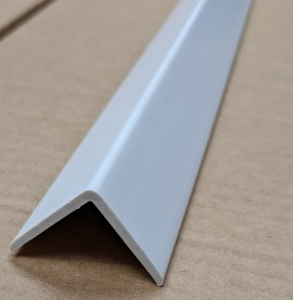 Trim-Tex White 25mm x 25mm x 1.2m PVC Corner Guard 1 Length