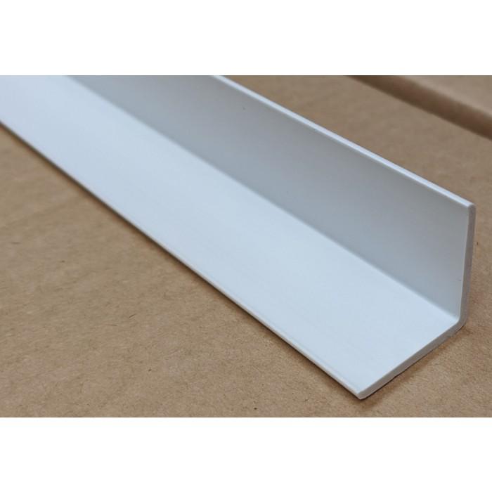 Trim-Tex White 25mm x 25mm x 1.2m PVC Corner Guard 1 Length