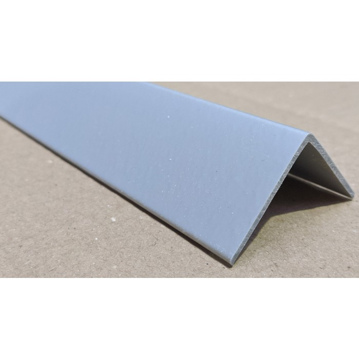 Trim-Tex Silver 38.1mm x 38.1mm x 1.2m PVC Corner Guard 1 Length