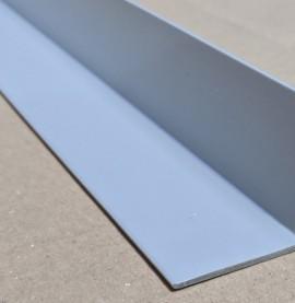 Trim-Tex Silver 38.1mm x 38.1mm x 2.4m PVC Corner Guard 1 Length