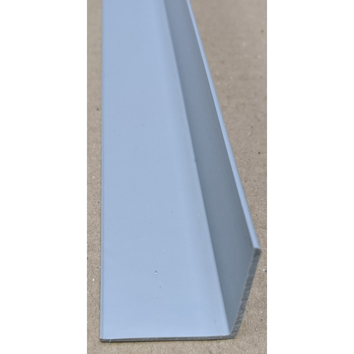Trim-Tex Silver 38.1mm x 38.1mm x 2.4m PVC Corner Guard 1 Length