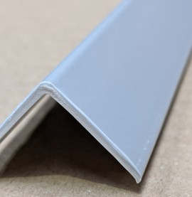 Trim-Tex Silver 25mm x 25mm x 1.2m PVC Corner Guard 1 Length