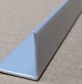 Trim-Tex Silver 25mm x 25mm x 2.4m PVC Corner Guard 1 Length