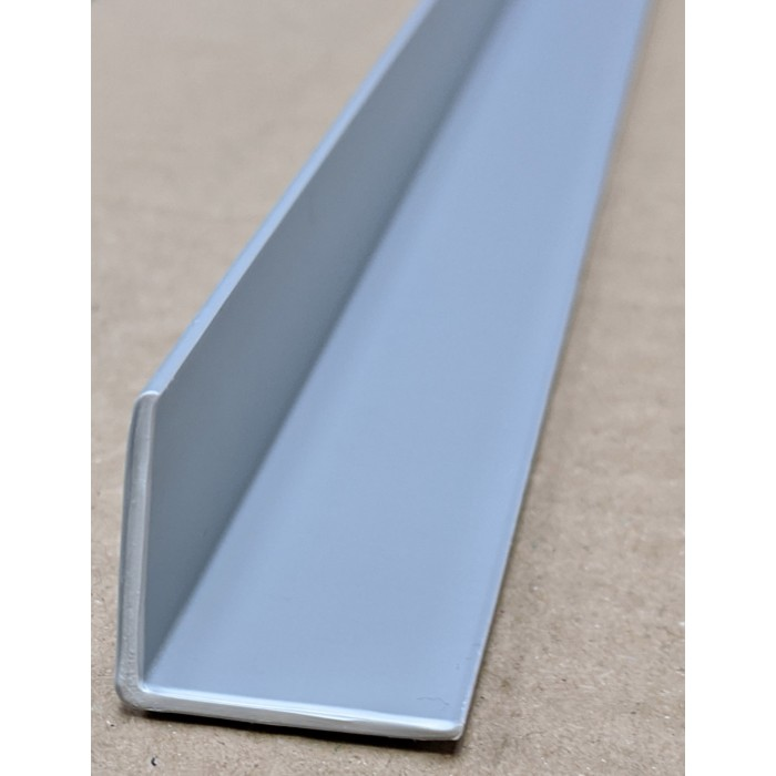 Trim-Tex Silver 25mm x 25mm x 2.4m PVC Corner Guard 1 Length