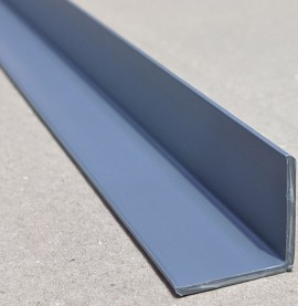 Trim-Tex Grey 25mm x 25mm x 1.2m PVC Corner Guard 1 Length