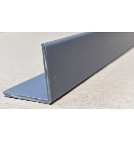 Trim-Tex Grey 25mm x 25mm x 2.4m PVC Corner Guard 1 Length