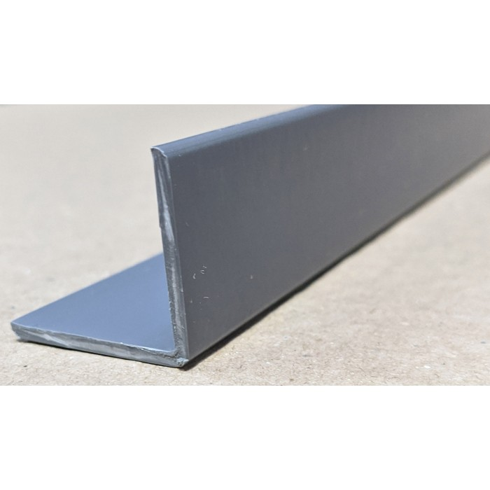 Trim-Tex Grey 25mm x 25mm x 1.2m PVC Corner Guard 1 Length