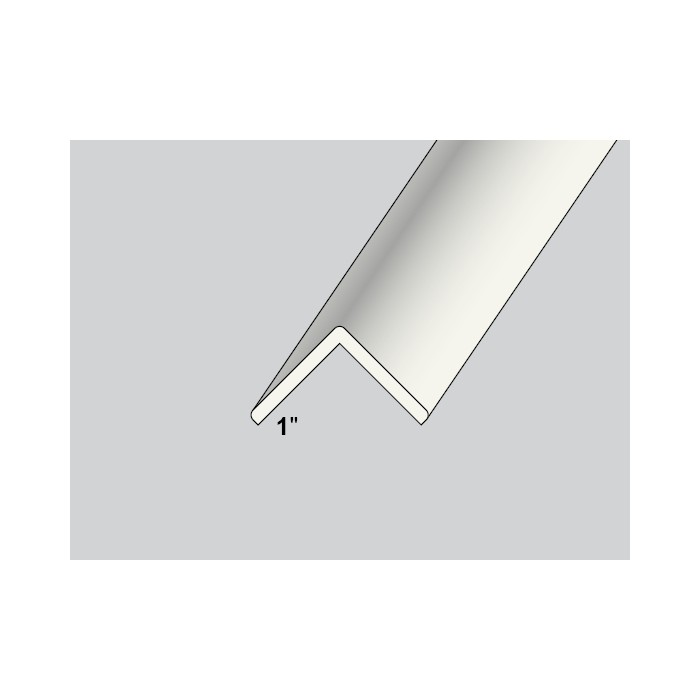 Trim-Tex White 25mm x 25mm x 2.4m PVC Corner Guard 1 Length