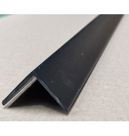 Trim-Tex Black 25mm x 25mm x 1.2m PVC Corner Guard 1 Length