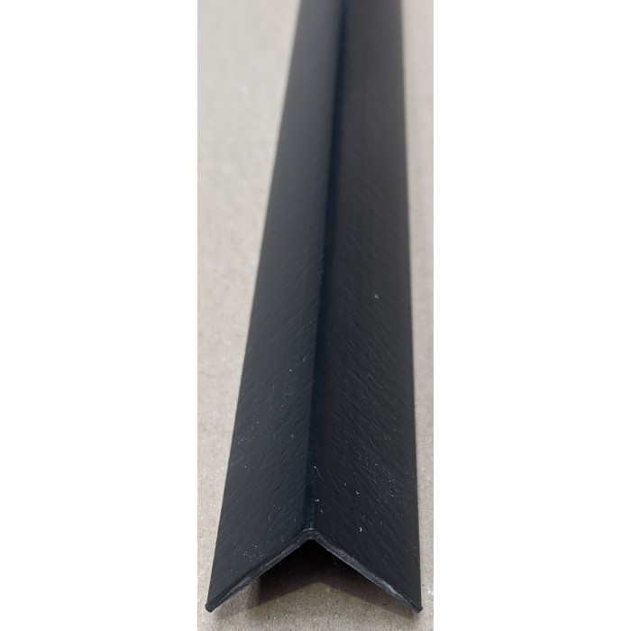 Trim-Tex Black 25mm x 25mm x 2.4m PVC Corner Guard 1 Length