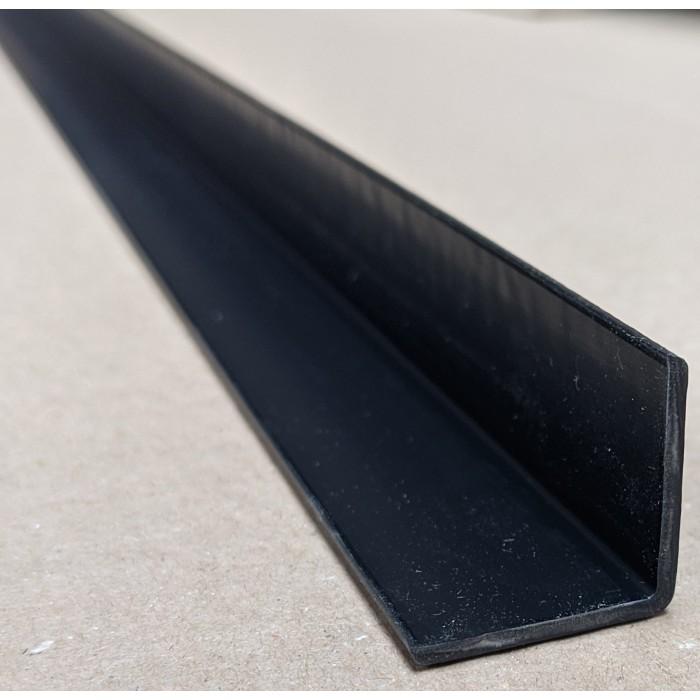Trim-Tex Black 25mm x 25mm x 2.4m PVC Corner Guard 1 Length