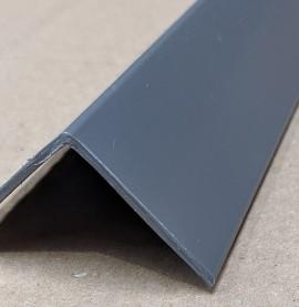 Trim-Tex Grey 38.1mm x 38.1mm x 2.4m PVC Corner Guard 1 Length