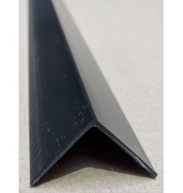 Trim-Tex Black 38.1mm x 38.1mm x 1.2m PVC Corner Guard 1 Length