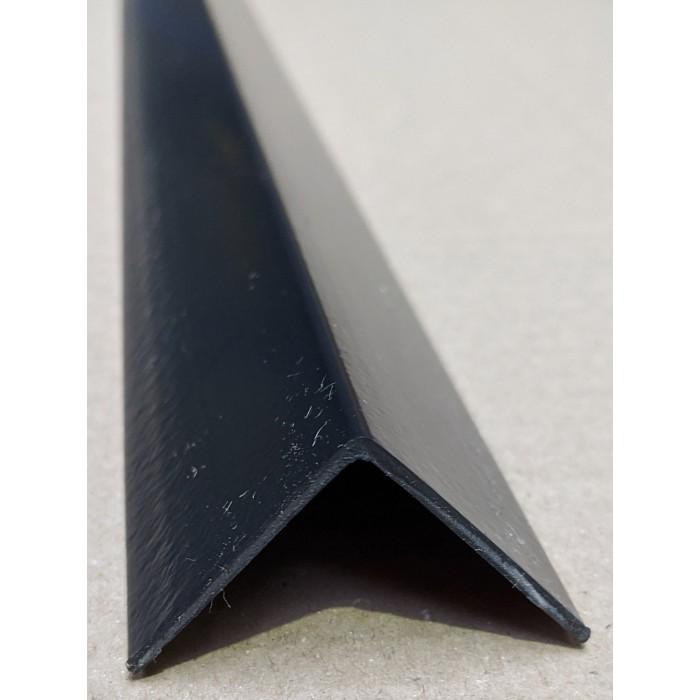 Trim-Tex Black 38.1mm x 38.1mm x 1.2m PVC Corner Guard 1 Length
