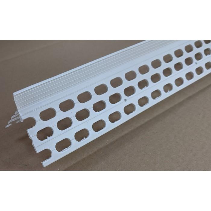 Renderplas CB20 20mm PVC White Corner Bead 3m 1 Length