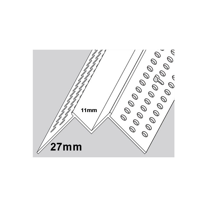 Trim-Tex Reveal Corner Bead 3m 1 length. 9910