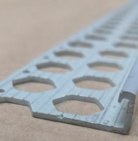 Renderplas Slate PVC 10mm - 12mm x 40mm x 3.8mm x 2.5m Stop Bead 1 Length