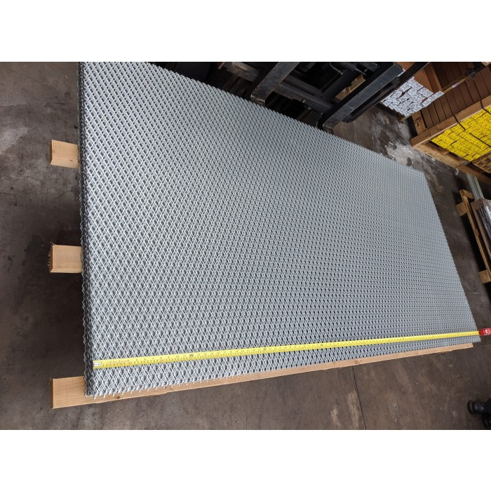 Galvanised Mild Steel Security Mesh 2500mm x 1250mm x 1.25mm Thick 1 Sheet