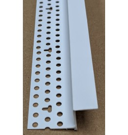 Trim-Tex Shadow Gap White PVC Feature Bead Profile 15mm x 12mm x 305cm 1 length AS5810