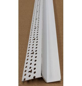 Trim-Tex Shadow Gap White PVC Feature Bead Profile 15mm x 19mm x 305cm 1 length AS5910