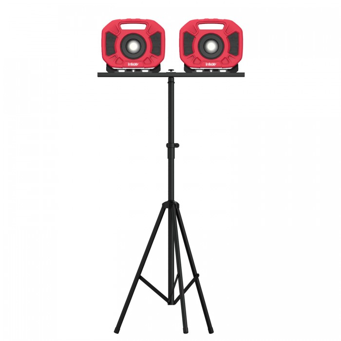 InteX Telescopic LED Work Light Tripod Stand 43 - 83 Inch