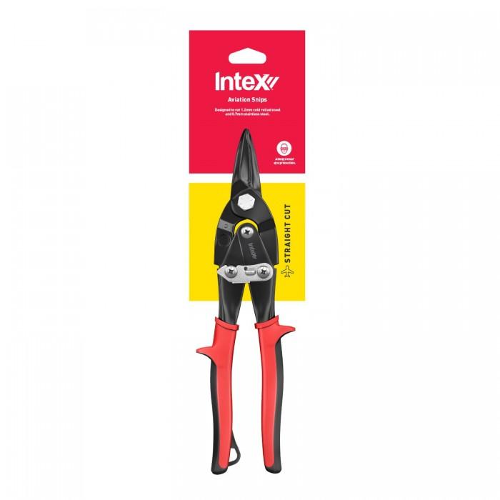 InteX Straight Cut Aviation Tin Snips