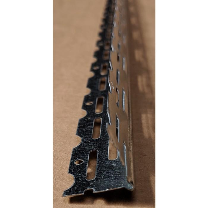 Thin Coat 22mm Galvanised Steel Bead 3m 1 Length
