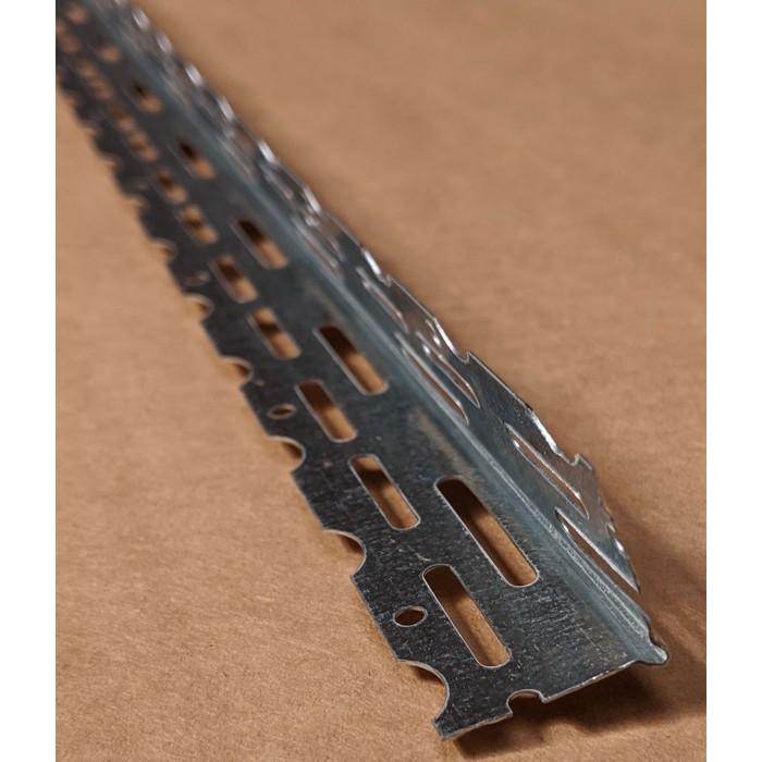 Thin Coat 22mm Galvanised Steel Bead 3.0m Box 50