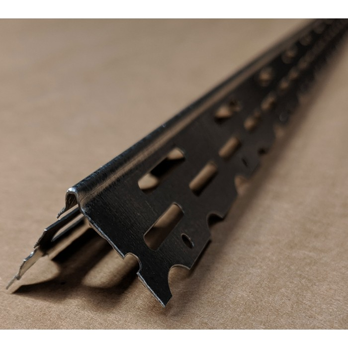 Thin Coat 22mm Galvanised Steel Bead 2.4m Box 50