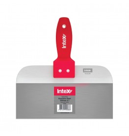 InteX Stainless Steel Taping Knife With MegaGrip Handle
