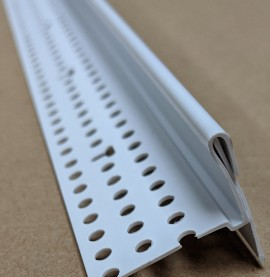 Trim Tex PVC Edge Bead with Removable Protective Strip 15.8mm x 27mm Trim-Tex Part Code 3110 3m 1 Length