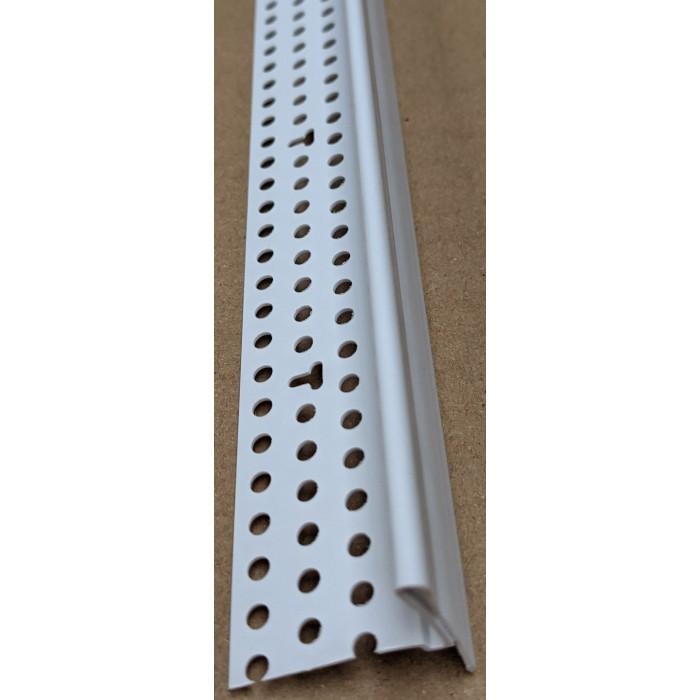 Trim Tex PVC Edge Bead with Removable Protective Strip 15.8mm x 27mm Trim-Tex Part Code 3110 3m 1 Length