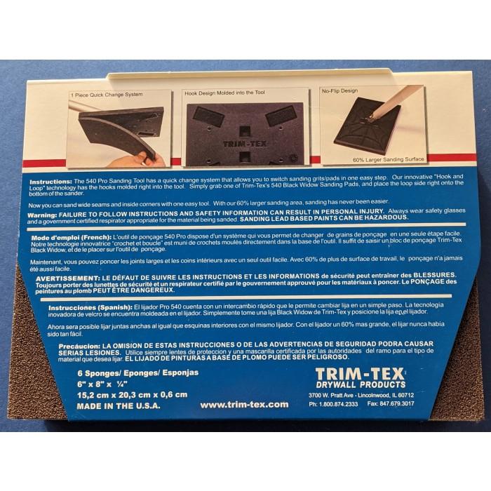 Trim-Tex Black Widow Sanding Pad Fine Grit