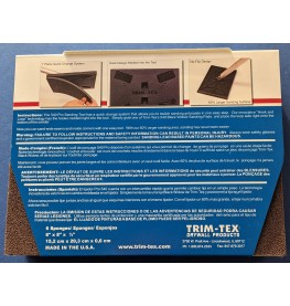 Trim-Tex Black Widow 6 Pack Sanding Pads Medium Grit Part Number 560-M