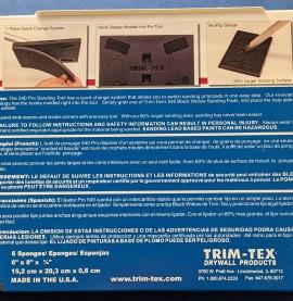 Trim-Tex Black Widow Sanding Pad Medium Grit