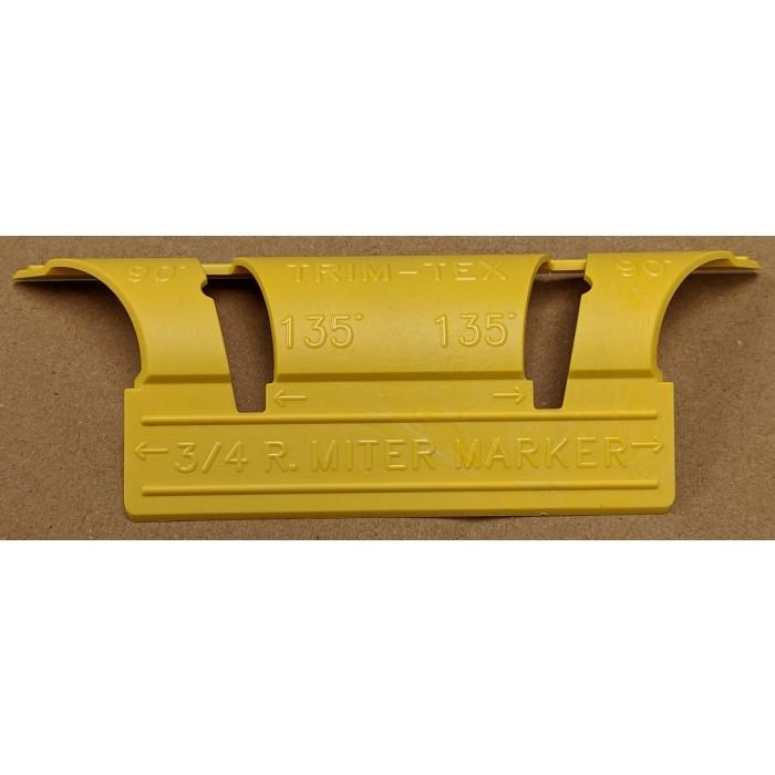 "Trim-Tex 3/4"" Bullnose Mitre Marker 932M"
