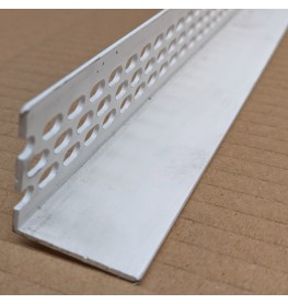 Wemico 30mm x 30mm x 2.5m White PVC Ventilation Angle 1 Length