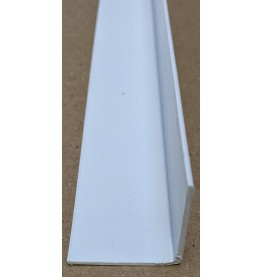 Trim-Tex White 38.1mm x 38.1mm x 2.4m PVC Corner Guard 1 Length